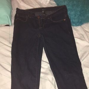Forever 21 Dark Denim Jeans